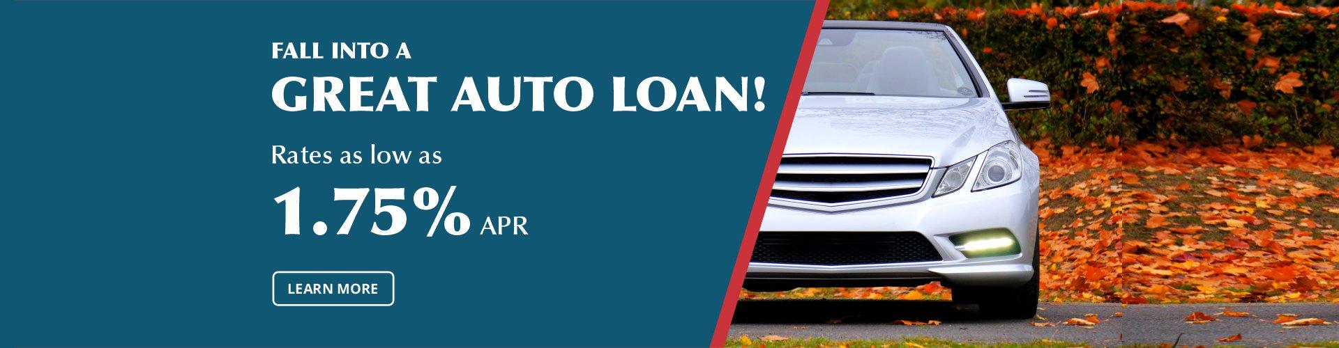 Auto Loan Fall 2020