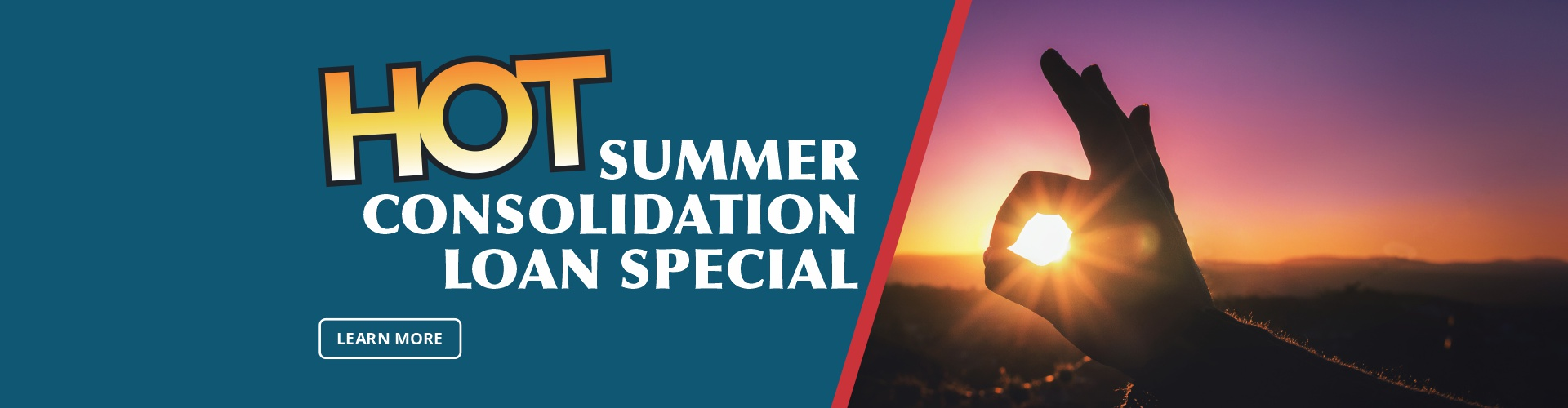Summer Consolidation Loan Special